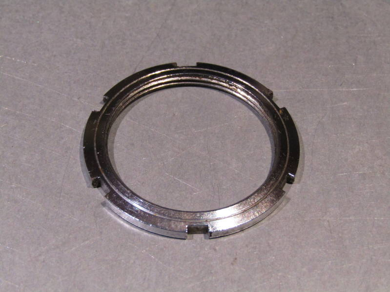CAMPAGNOLO NUOVO/SUPER RECORD Bottom Bracket LOCK RING ENGLISH Thread 2nd Hand BXC00D7
