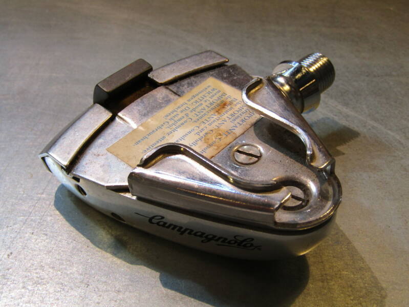 CAMPAGNOLO SGR Right side pedal NOS! BB24B 7070 - 6/12/21 RK03