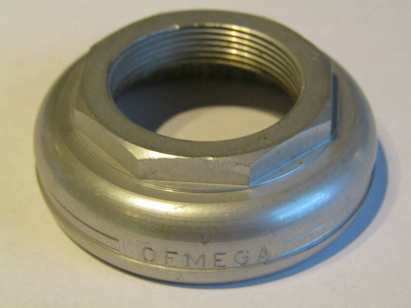 OFMEGA SPECIALE FRENCH Thread Headset ALLOY Adjustable bearing race NOS! TL03 01-B01-C05-02A 6/17/21