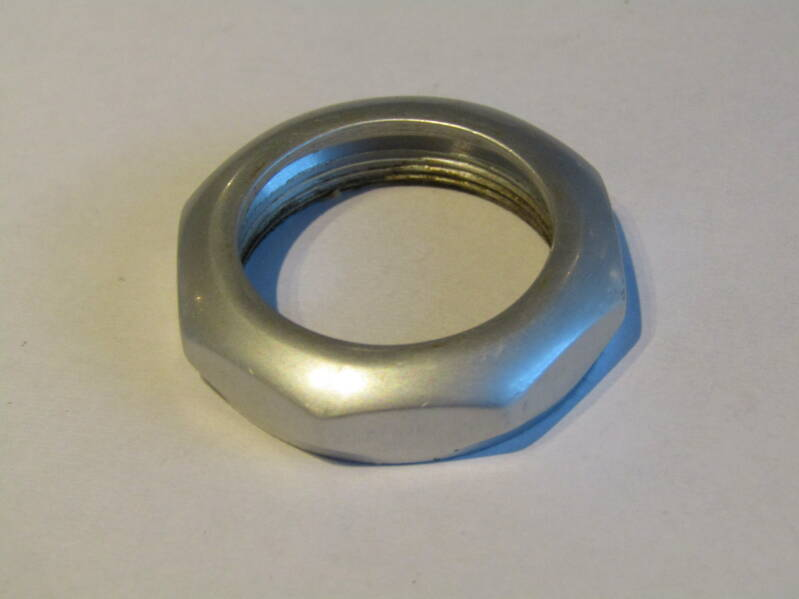 OFMEGA SPECIALE Headset FRENCH Thread ALLOY LOCK-NUT NOS! TL03 01-B01-C04-02 6/17/21