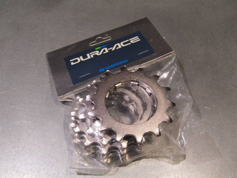 SHIMANO DURA ACE 7402 ERA 7/8sp 14t UNIGLIDE Cassette Cog with spacer NOS! BXC00G23 01 - 9/19/19 RK09