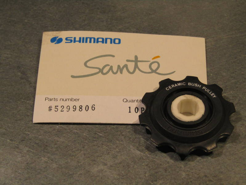 SHIMANO SANTE CERAMIC upper rear derailleur pulley NOS! BB29A 03 - 3/24/20 RK04