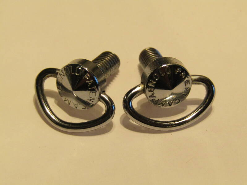 CAMPAGNOLO SUPER RECORD Gear lever wing nuts MINT! TL08 04-B02-C02-07 6/26/21