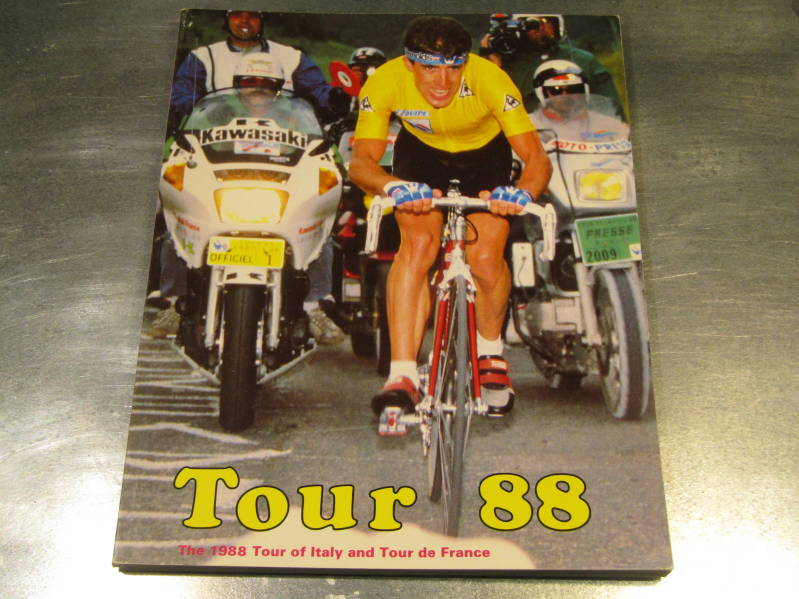 TOUR 88 Cycling Book 125 pages NOS! BB55 050 - 3/27/20 RK13