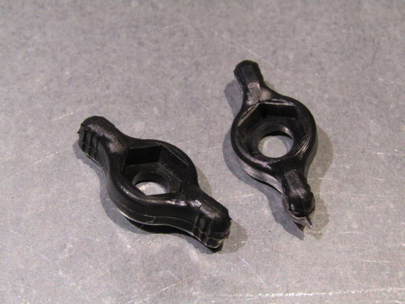 SIMPLEX Gear Lever wing nuts 2X NOS! BXC00D35
