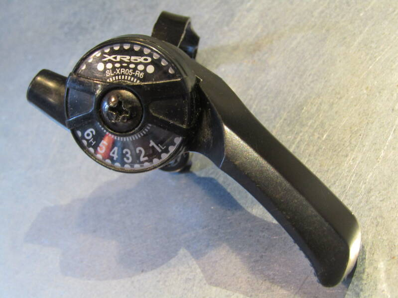 SHIMANO XR50 6 SPEED TOP MOUNT INDEX ONLY SHIFTER NOS! BX15 58 - 4/16/20 RK13