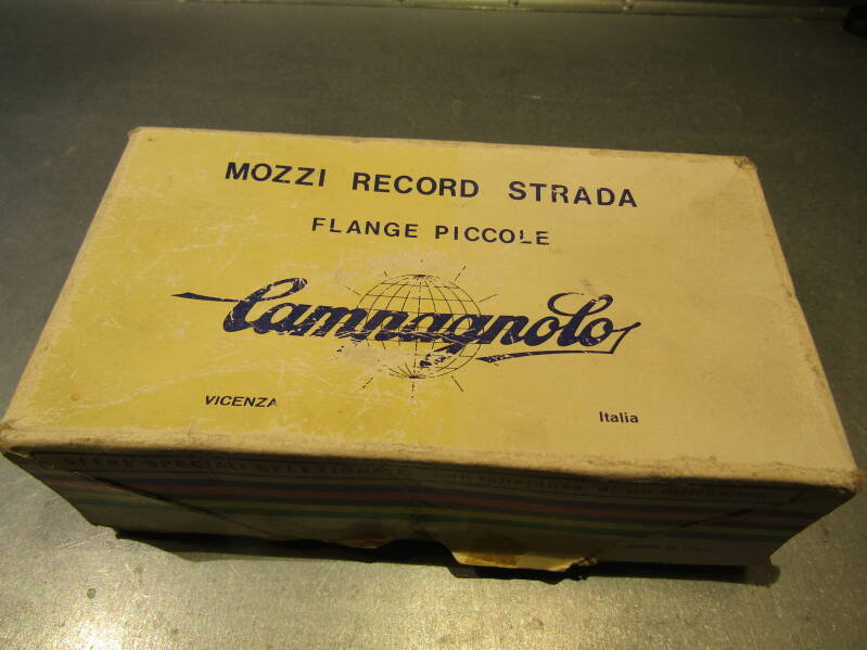 CAMPAGNOLO NUOVO RECORD 1980 36o 6sp 126mm Hubset ITALIAN Thread Rebuilts BXC00M3 01 - 6/22/19