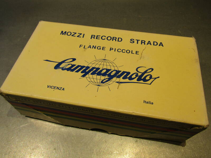 CAMPAGNOLO NUOVO RECORD 1984 36o 6sp 126mm Hubset REBUILTS BXCM004 01 - 6/22/19