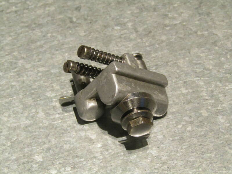 CAMPAGNOLO NUOVO/SUPER RECORD VINTAGE 80's BZ-ON Front derailleur body 2nd hand TL01 B02-004-03 9/25/21