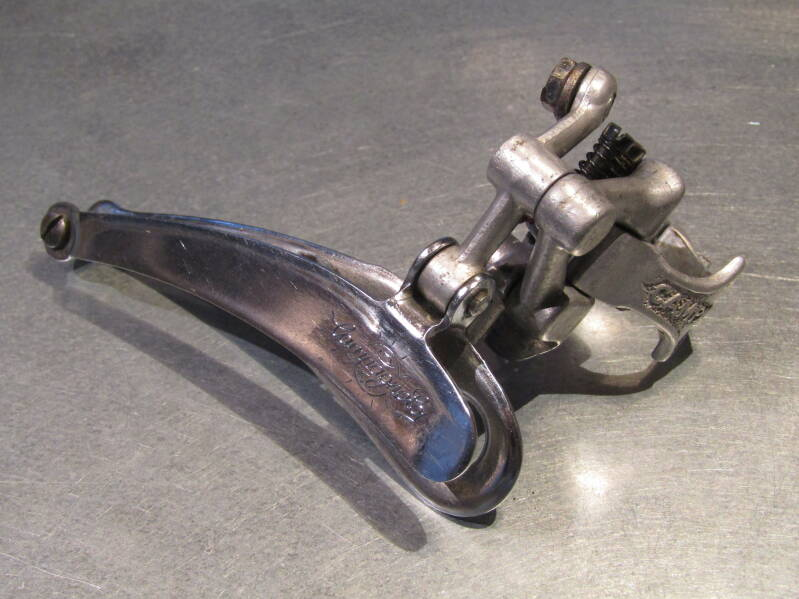 CAMPAGNOLO NUOVO RECORD ( RECORD ) CLAMP-ON Front derailleur 2nd hand BXC00N28 04 - 4/28/20 RK13