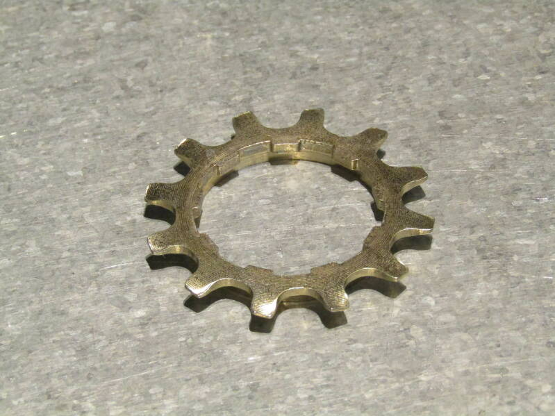SHIMANO DURA-ACE EX 12t 5/6sp FREE-HUB Cassette cog with spacer NOS! BXC00J32 6060 - 10/6/21