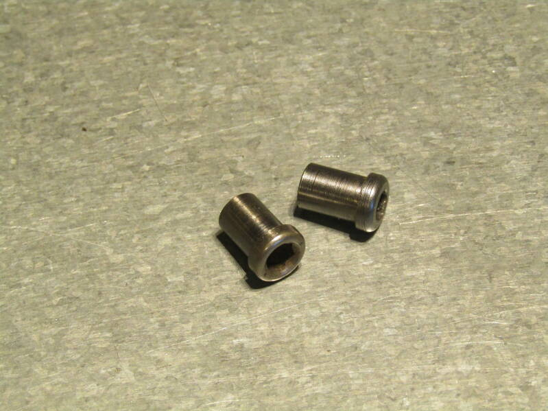 CAMPAGNOLO NUOVO/SUPER RECORD Brake caliper recessed mounting nuts 2X 2nd hand TL05 01-B01-C01-01 10/10/21