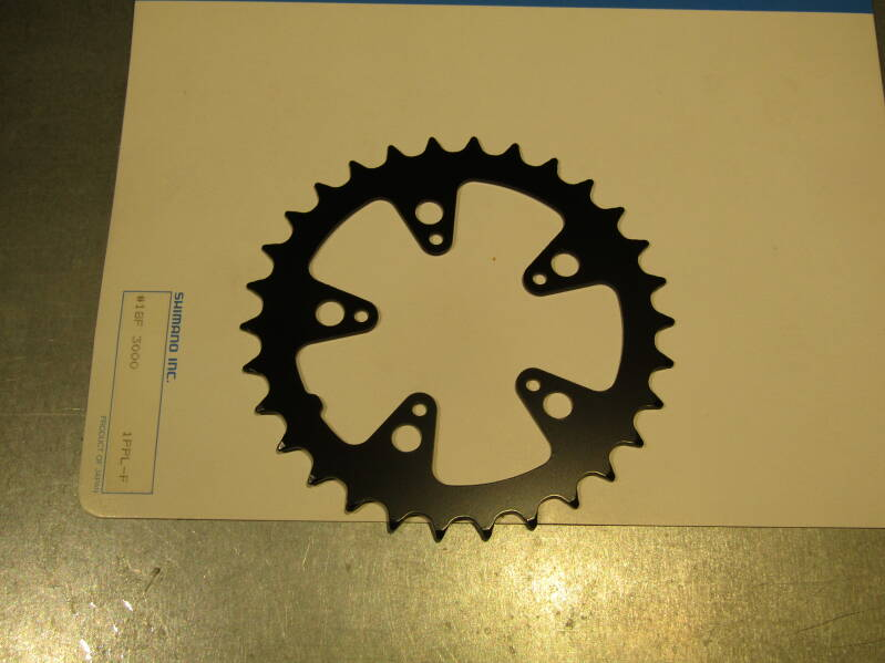 SHIMANO 30t STEEL Granny gear ROUND chain wheel BCD 74mm NOS! BXC00F23