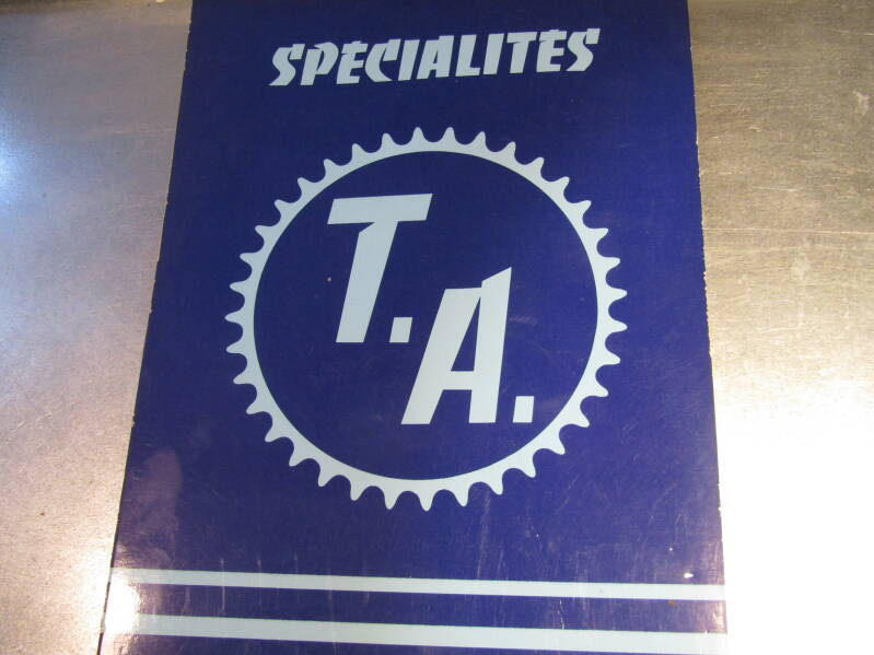T.A. SPECIALITES 36 page calolog 2nd hand SC01 505 - 5/22/20