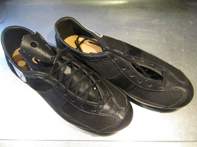 RIVAT LEATHER / NYLON MESH cycling shoes size 39 NOS! BX27 709 - 6/5/20 RK11