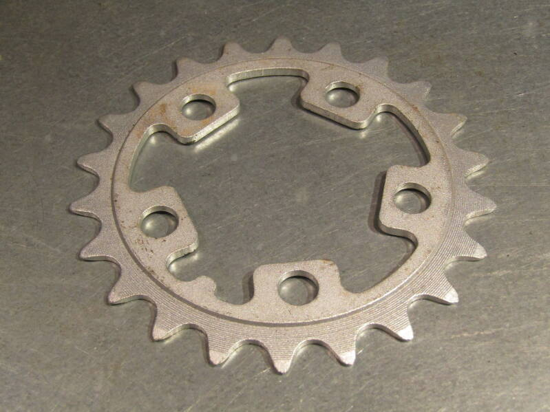SHIMANO TYPE ( CPI ) 22t ROUND ALLOY CHAINWHEEL BCD 58mm NOS! BX19A 101 - 6/17/20 RK01