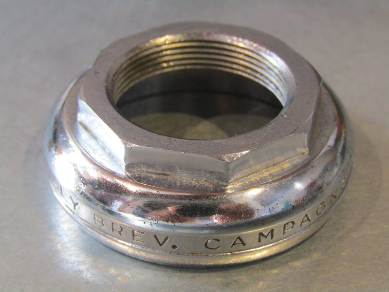 CAMPAGNOLO NUOVO RECORD FRENCH Thread adjustable HEADSET Bearing race NOS! BB25D 102 - 7/2/20 RK03