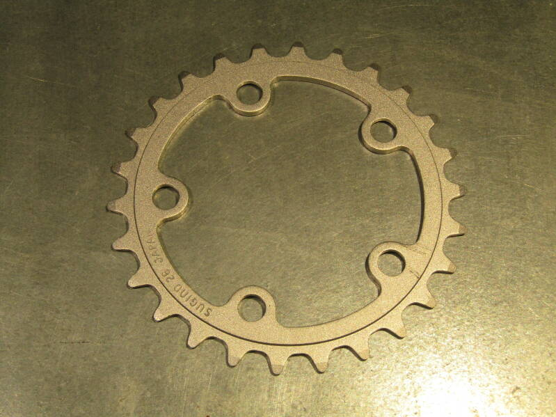 SUGION 26t ROUND ALLOY GRANNY GEAR BCD 74mm NOS! BX63A 600 - 9/26/20 RK13