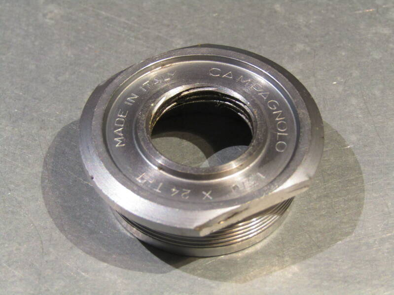 CAMPAGNOLO NUOVO RECORD ENGLISH Thread 1,370 X 24TPI Fixed BB cup 2nd hand BX68A 6661 - 11/13/20 RK11