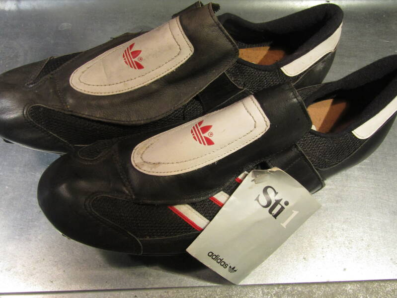ADIDAS J1107 ST 1 clipless shoes size 12 NOS! BX31 0001 - 11/21/20 RK12