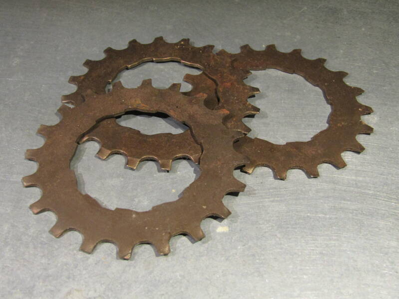 SHIMANO EXAGE 20t last position freewheel cogs 3X NOS! BXC00A33 6666 - 12/11/20 RK09