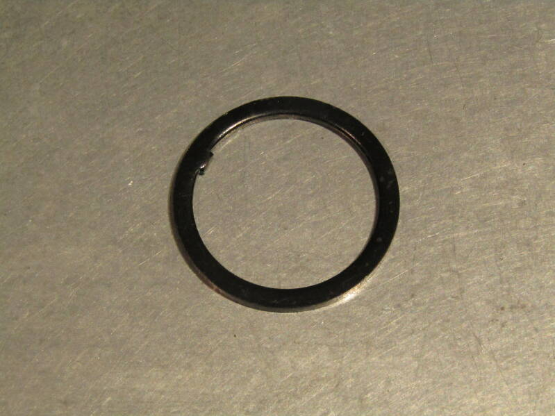 TANGE Black 1'' keyed headset washer 2nd hand BXC00D6 0029 - 1/2/21 RK06