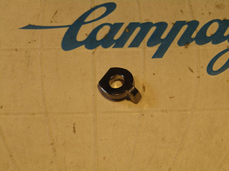 CAMPAGNOLO NUOVO RECORD TYPE (#88 CHROME ) Rear DERAILLEUR Cable clamping keyed hardware NOS! Beta03 D3-002-01 25/2/21