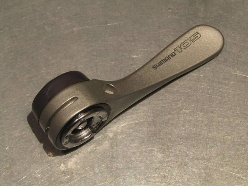 SHIMANO 105SC Left side gear lever with mounting bolt NOS! 0000 12/3/21