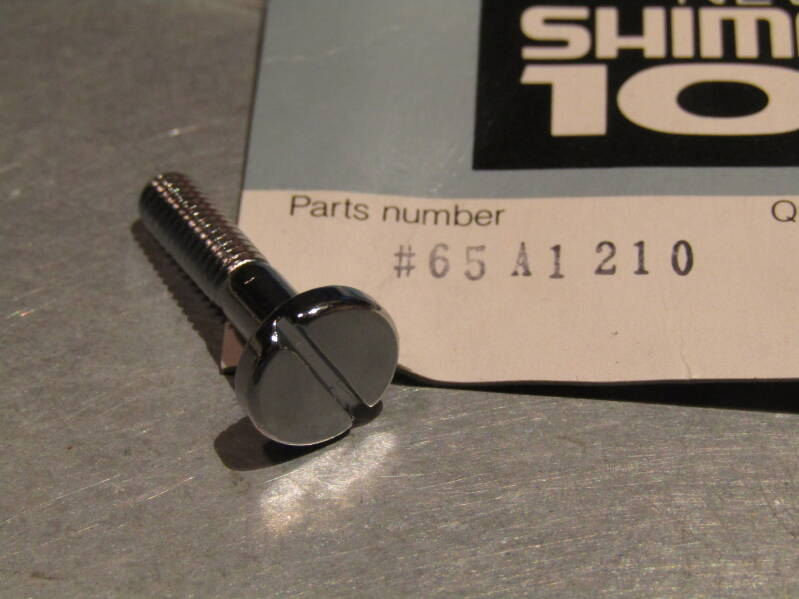 SHIMANO 105 Right side gear lever mounting bolt NOS! TL02 01-BX01-02-04 12/3/21