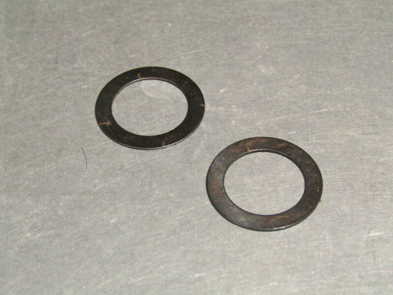 T.A. / TEVANO Pedal washers 1 pair NOS! Beta01 D07-001-07 18/3/20
