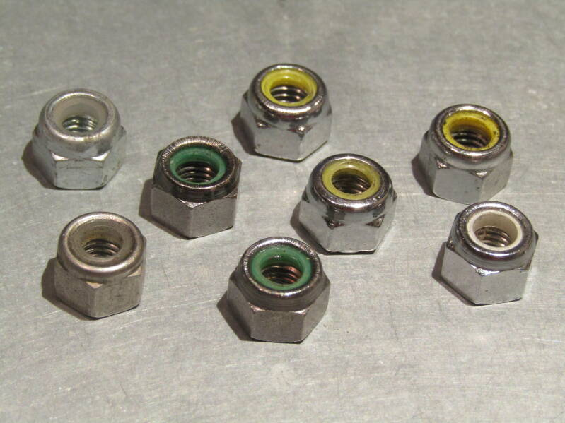 CAMPAGNOLO Brake caliper mounting nuts 8X MIX BAG NOS! Beta02 D02-004-04C 3/26/21