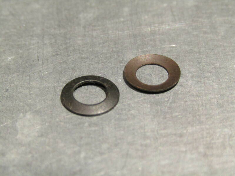 CAMPAGNOLO NUOVO RECORD HUB QR Lever nut washers 2X NOS! Beta07 D07-001-01 3/30/21