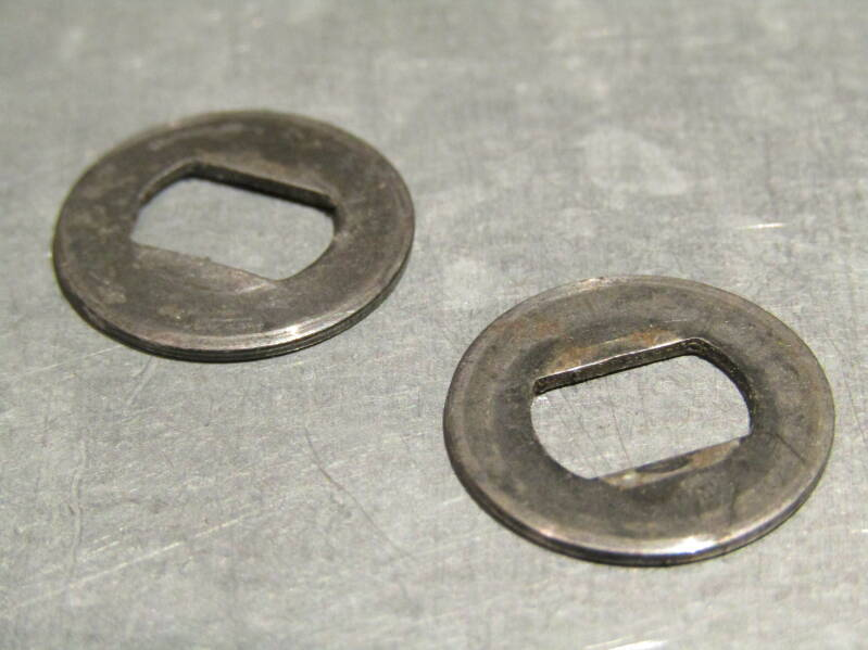 CAMPAGNOLO NUOVO/SUPER RECORD Gear lever steel fitted washers 2nd hand TL01 04-B01-C5-03 3/30/21