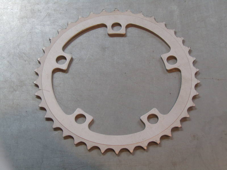 CPI 38t ALLOY ROUND chainwheel BCD 110mm 2nd hand BX23 01 - 8/30/19 RK10
