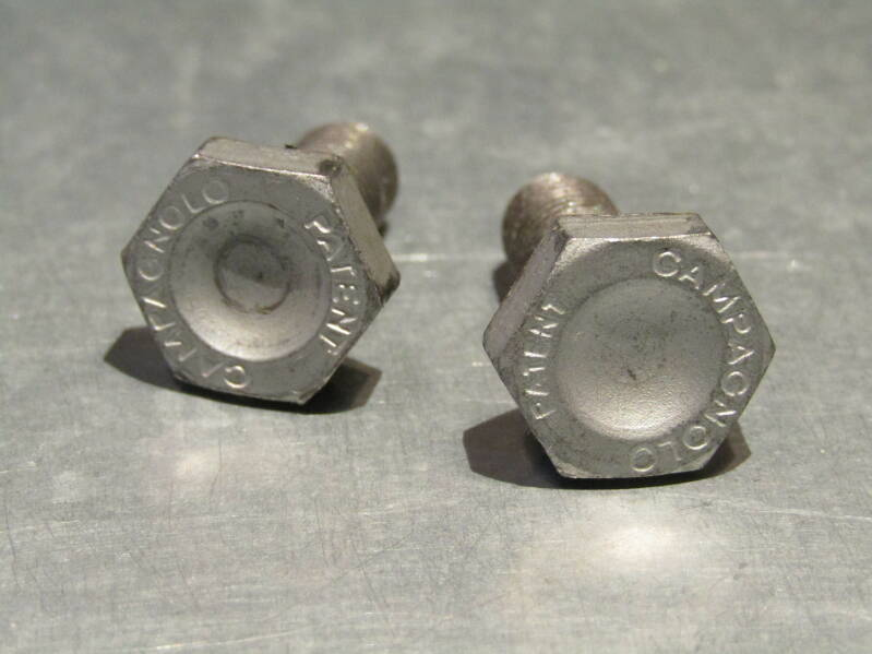 CAMPAGNOLO NUOVO RECORD Crank arm bolts 2X 2nd hand Beta01 D03-001-03 4/17/21