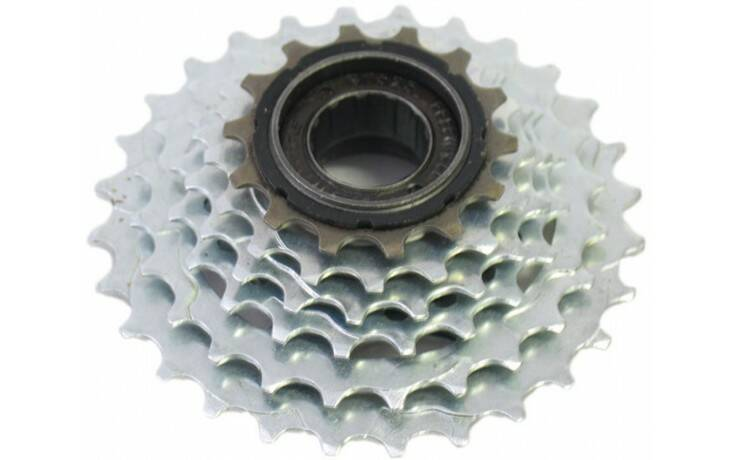 Freewheel Sunrace 6 speed 14-28T chroom