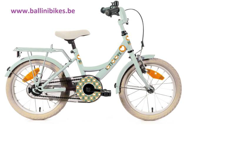 BIKEFUN LOTS OF LOVE GIRLS 12  LICHT GROEN 2020