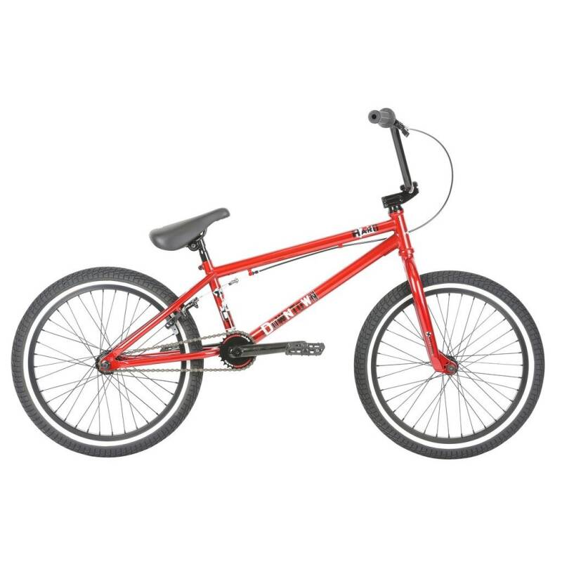 "haro bmx downtown DLX 20"" wheels gloss mira red"