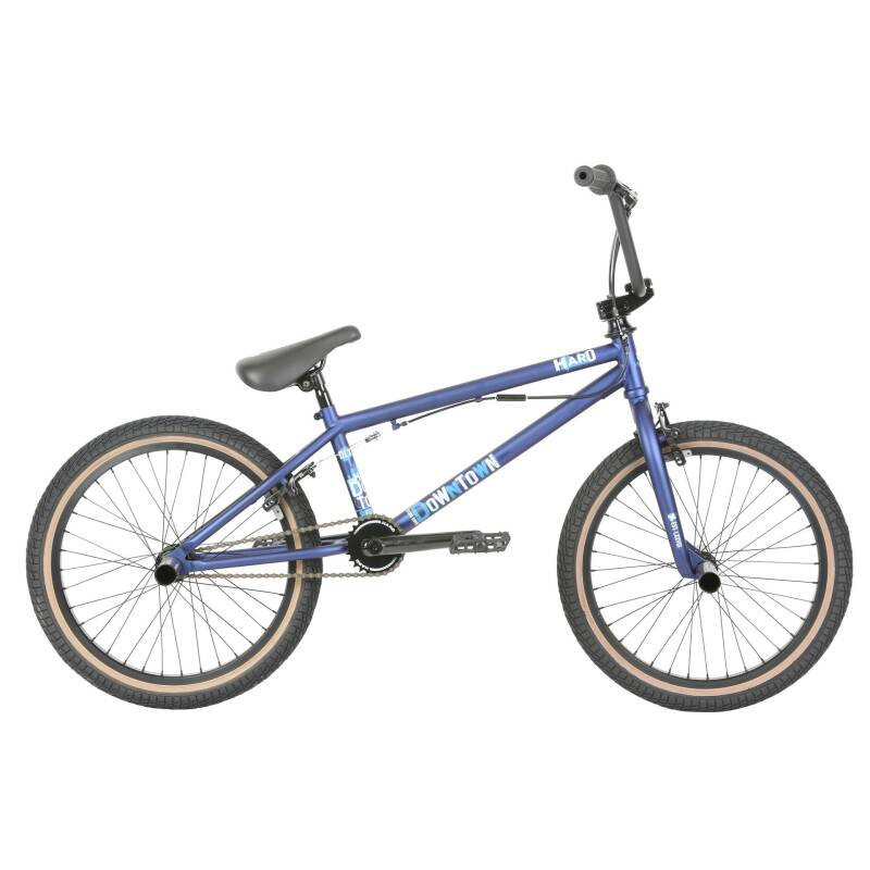 "haro bmx downtown DLX 20"" wheels matte blue"