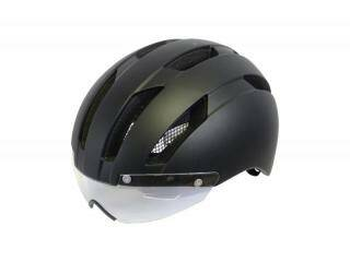 Helm URBAN SPEED E-Bike M 54-58 cm of L 58-62cm mat zwart