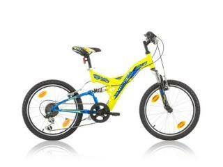 "kinderfiets jongens TAMBORA 20'"" MTB Full suspention -  6 vit shimano"
