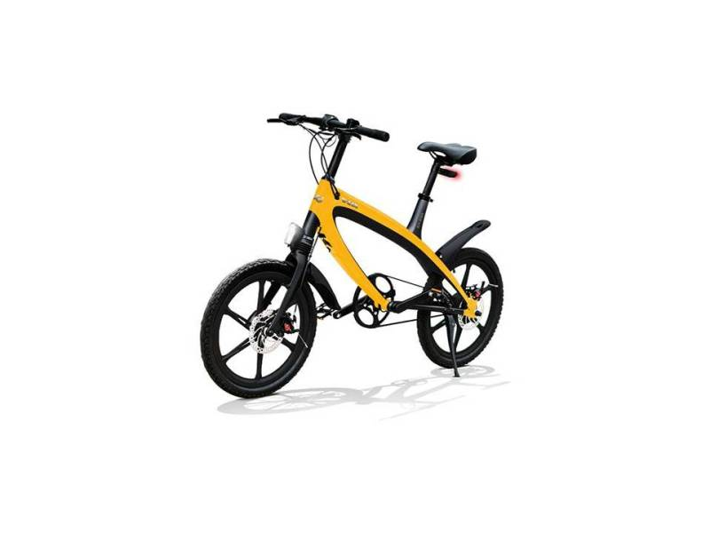 V1 V-ITA sunset yelow electrische mini fiets licht gewicht