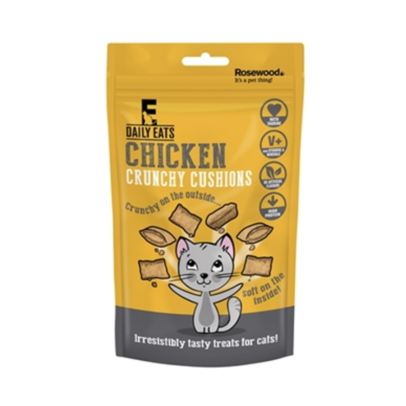 Rosewood crunchy chicken cushions