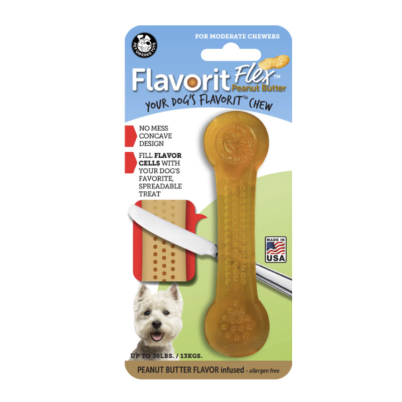 Flavorit Flex Peanut Butter Bone M-L