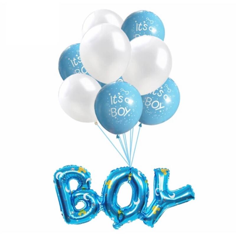 Babyshower Versiering Pakket - It's a Boy - 9 stuks