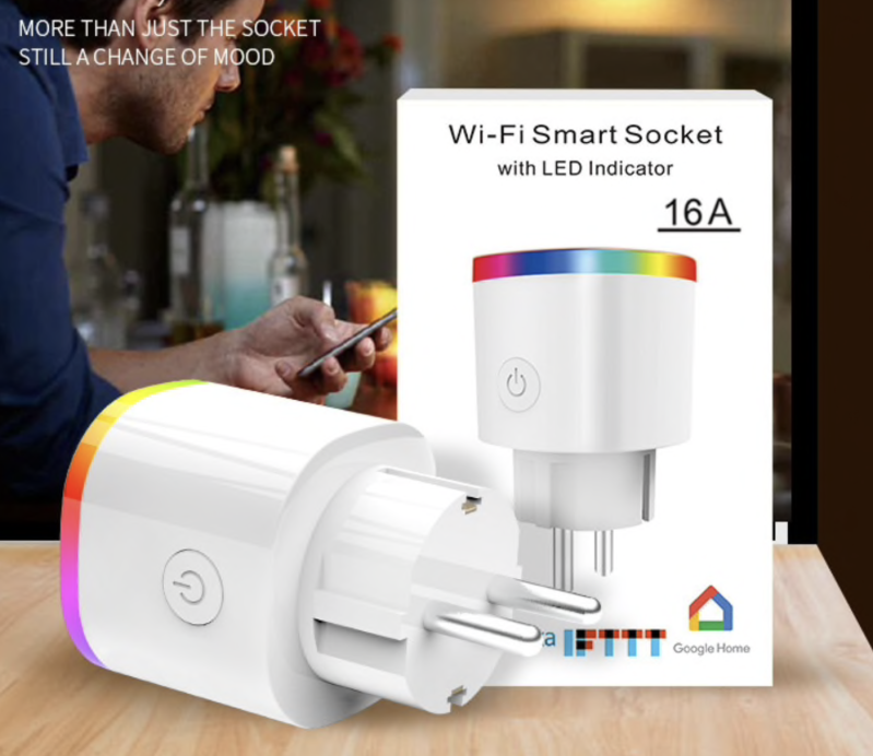 Smart Plug Wifi | LED indicator