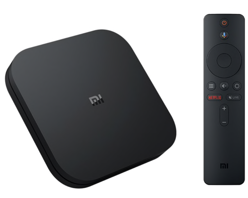 MI TV Box 4K Quad Core HDR | hdr android tv streaming mediaspeler google assistent externe officiële internationale versie cortex-a53 quad core 64 bit mali-450 android 8.1 2 gb ram + 8 gb rom