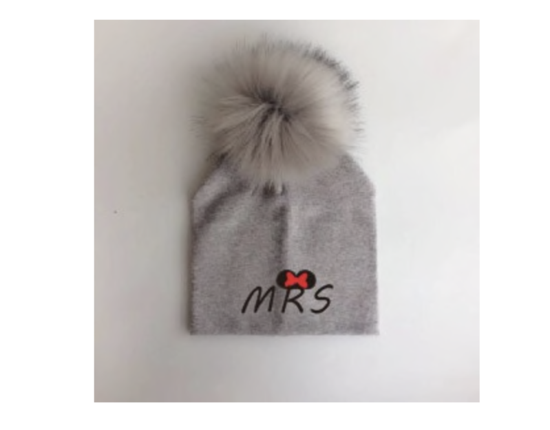 PomPom Muts MRS Taupe Baby & Peuter