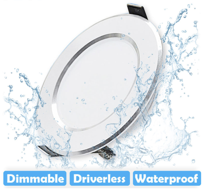 LED downlight inbouw waterbestendig | 5W - 7W - 9W - 12W - 15W