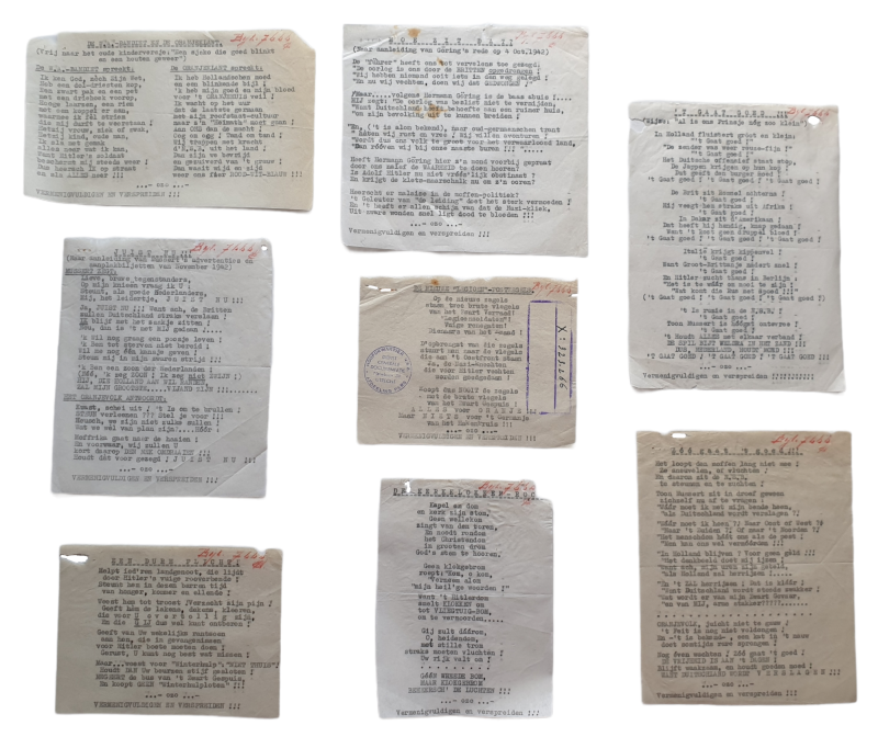Anti NSB resistance songs from the NSB archive